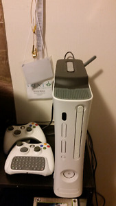 Xbox 360 with 28 games