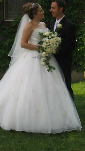 Cinderella Wedding Dress **Price Reduced**