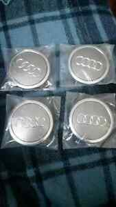 Audi Center Wheel Caps - 58/69mm - set of 4 - New Never Used Kitchener / Waterloo Kitchener Area image 2