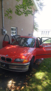 1999 BMW 3-Series Rouge Familiale