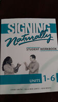 Signing Naturally (Student Workbook)