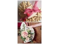 Wedding flowers pew ends £10 for the lot