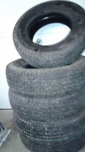 5 Goodyear Transforce HT LT245/70R17