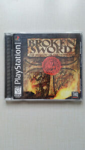 Broken Sword The Shadow of the Templars Playstation PS1