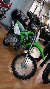 motocross kawasaki  klx 110 L  2016