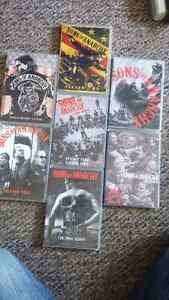 Complete Sons of Anarchy Series.