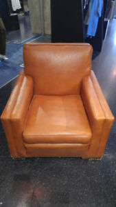 Retro vintage leather chair