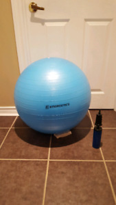 Exercise Fitness Workout Core Stability Pilates Ball with pump