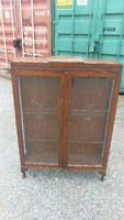 Small Antique Display Cabinet