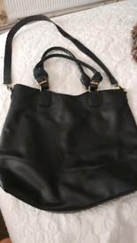 Big black handbag