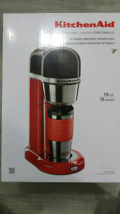Kitchen Aid personal coffee maker and travel mug
