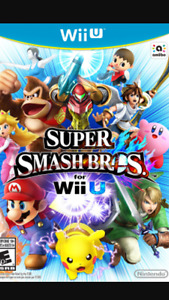 Wiiu game: super smash bros