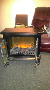 Elect Fire Place