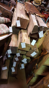Raw Wood Selection see photo's
