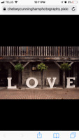 Marquee Love Letters for Rent