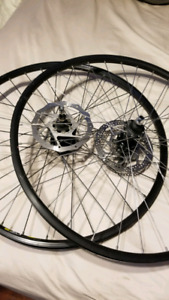 Selling bike wheels and parts cheap obo