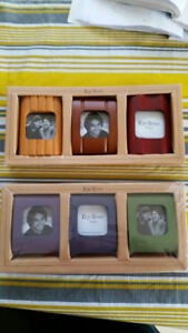 6 small Picture Frames 2x2