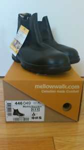 Woman Safety Shoes – Maddy Mellow Walk - Black