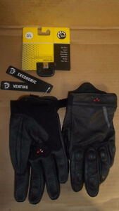 NEW MENS VENTED RIDING GLOVES