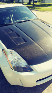 New Safetied Nissan 350z touring edition