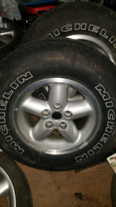 Jeep tj rims and tires