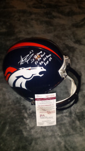 Steve Atwater signed, inscribed & authenticated