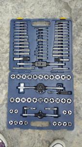 Mastercraft 75 piece tap and die set