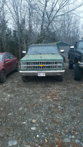 1982 Chevy 4 speed with bull low