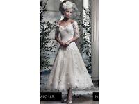 Ian Stuart Sophia Vintage Wedding Dress Size 12 (will fit 8,10,12)