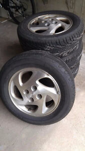 185/65R14 Tires and Rims - 4x100