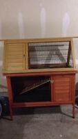 Rabbit Hutch Cage