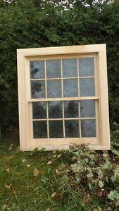 Historic Pine Windows