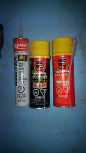 2 gap filler and vapour barrier adhesive
