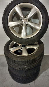 4 Pirelli Tires with Alloy Rims-PRICE REDUCED