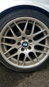 """4 mags bmw m package 18"""" 5x120"""