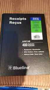Receipt book 400 duplicates Kitchener / Waterloo Kitchener Area image 1