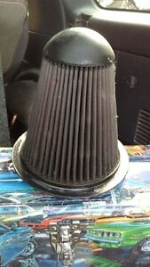 8 INCH K&N CONE SHAPE AIR CLEANER/FILTER FOR CAR OR TRUCK