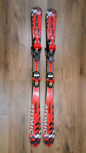 Atomic GS-9 downhill skis and bindings 120 cm