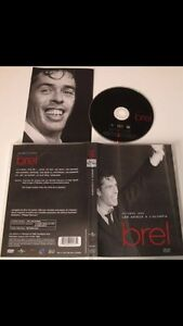 DVD jacques brel olympia 1966