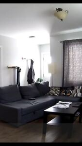 IKEA Sectional couch + sofa bed