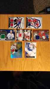 Relic/Jersey Hockey Cards