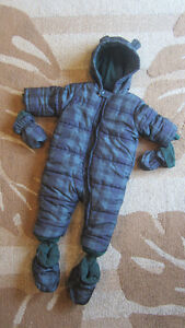 CUTE Boys SNOWSUIT by PLACE --- Size 12-18 Months --- LIKE NEW!