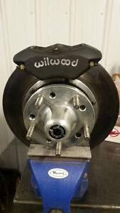 wilwood nova/camaro front disk brake kit