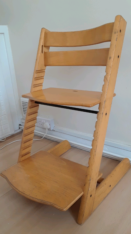 Groovy Wooden High Chair Sold In Southampton Hampshire Gumtree Caraccident5 Cool Chair Designs And Ideas Caraccident5Info