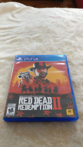 PS4 - RED DEAD REDEMPTION 2 40$