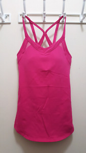 Hot Pink​ Lululemon Tank