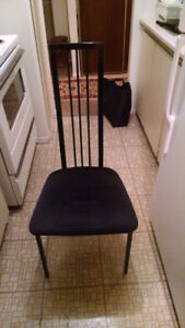 Dining Room Chairs and Table for sale