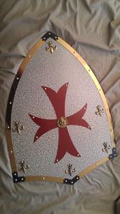 Templar Shield Replica