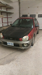 2002 Subaru Impreza PART OUT