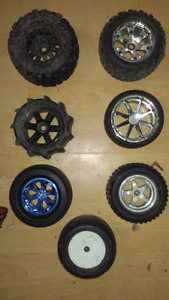 Rc tires great condition 1/8 scale